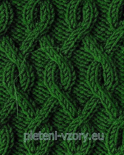 Vzor č. 88 – Kaleidoskop vzorů pro ruční pletení