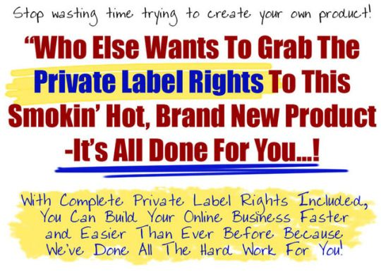 Private Label Rights and more...