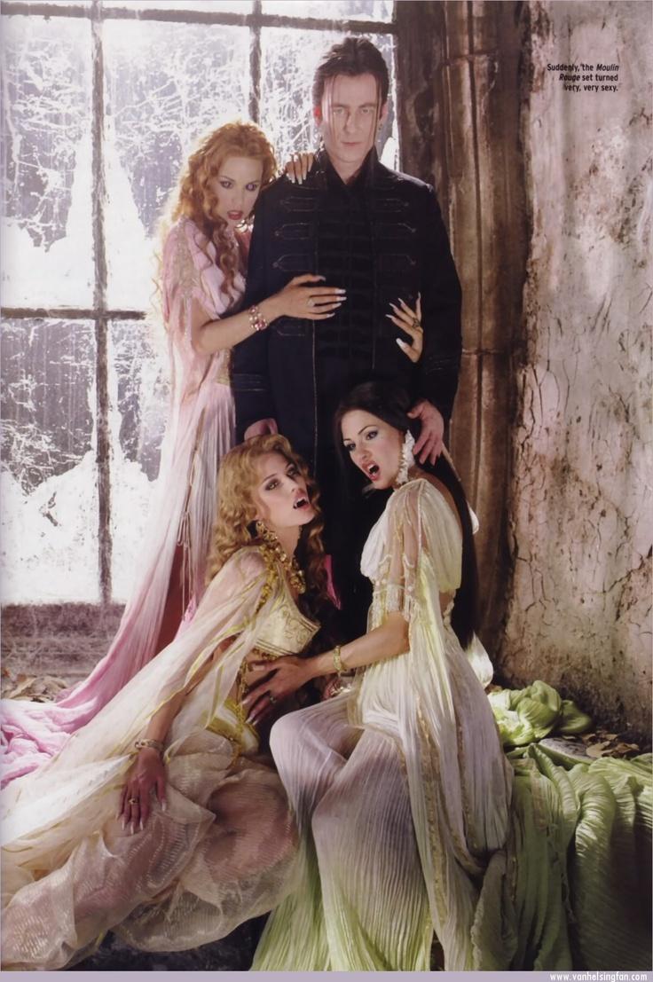 Van Helsing- Dracula and his brides.