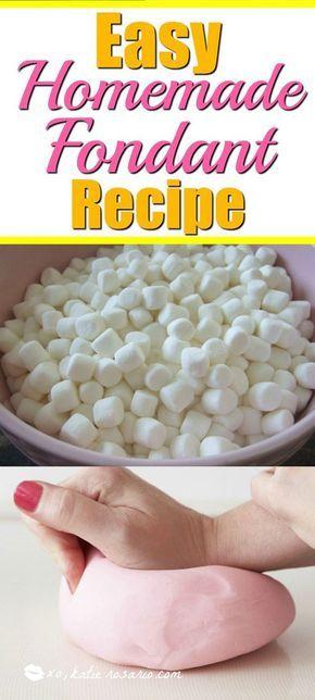 Einfache hausgemachte Fondant Rezept: Sind Sie ein Homebaker, der sich fragt, wie der Top-Bäcker …   – Cake