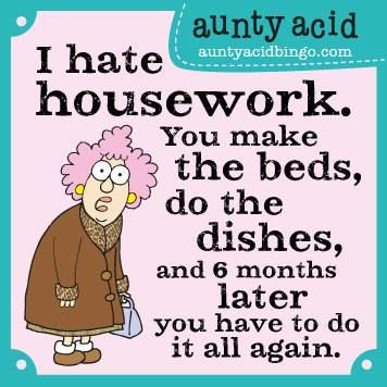 My washing up Fairy has been AWOL for a while now... www.gocomics.com/aunty-acid