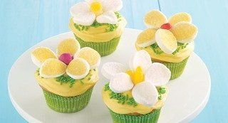 Easy Lemon Daisy Cupcakes: Brighten up your springtime celebrations with a batch of daisy cupcakes. They're as fun to make as they are to eat.