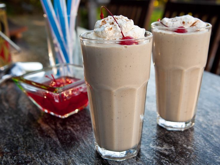 OH MY!!! I WILL try this one!!! Bananas Foster Milkshake Recipe : Guy Fieri : Food Network - FoodNetwork.com