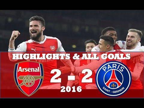 Arsenal vs PSG 2 2 ● Highlights & All Goals ● Champions league November ...