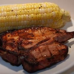 Smoky Grilled Pork Chops Allrecipes.com