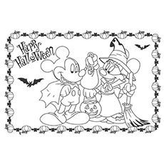 Top 66 Free Printable Mickey Mouse Coloring Pages Online. Halloween  Coloring PagesDisney ...