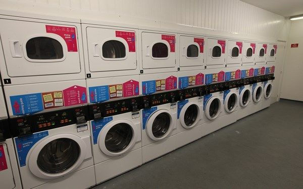 Keep on top of your laundry with our on-site launderette.