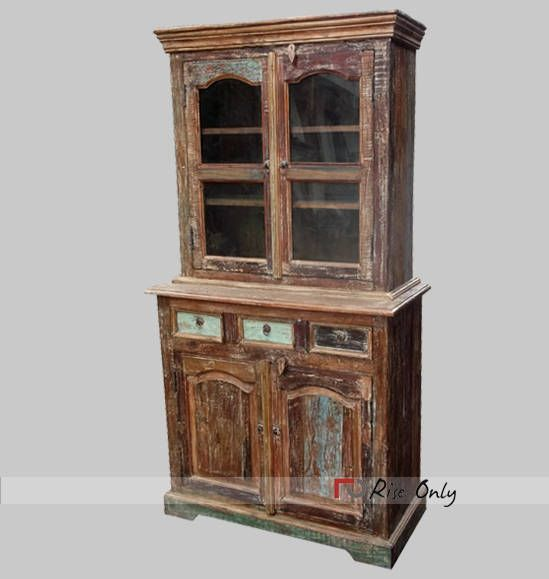 Rise Only Rough Wood Hutch Buffet Online