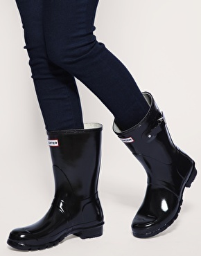 hunter short boots//want for fall