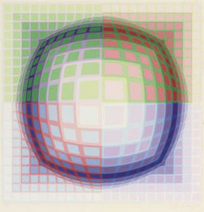 Untitled 5 - (Victor Vasarely)
