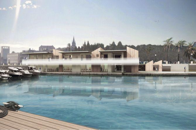 Thalatta Canoe Club, Messina, Italy - CaSA - Colombo and Serboli Architecture