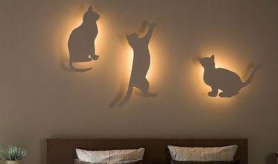 НАША СТРАНА МАСТЕРОВ: Очаровательные светильники для спальни в виде коше...