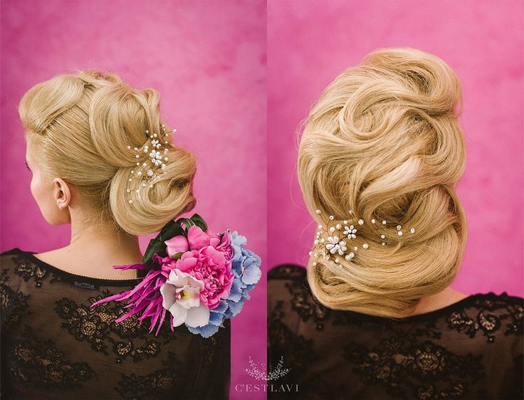 Idee de Coc Impletit pentru parul Blond ❤️ Blond Hair Bride Inspiration