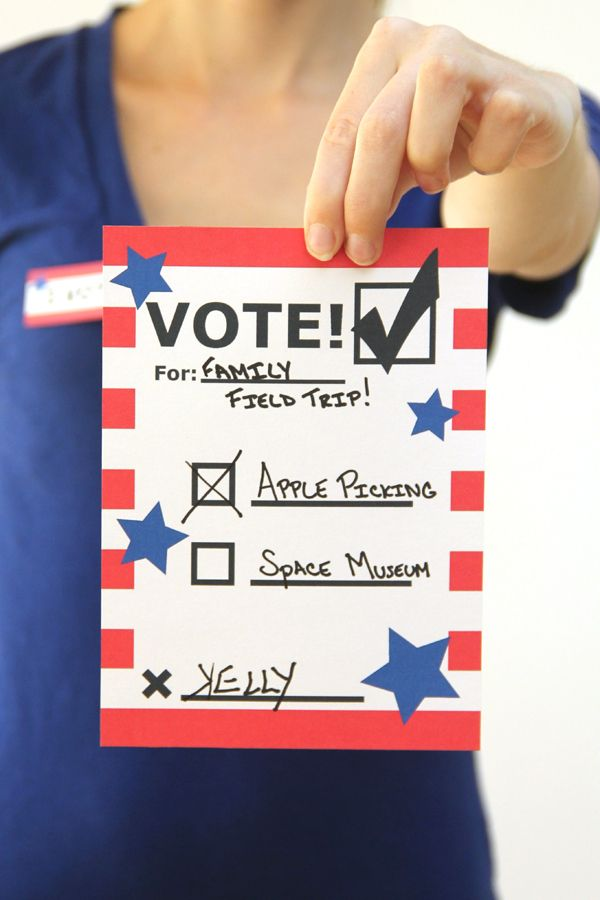 Voting Printables for Kids                                                                                                                                                                                 More