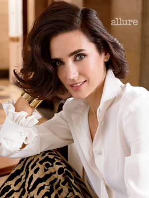 Allure Cover Girl Jennifer Connelly's Beauty Secrets: Daily Beauty Reporter :  If you feel like you grew up with Jennifer Connelly, here's why: She's been in a movie almost every year since she started acting at age 11. And with four films being released this year, she's busier—and more gorgeous—than...