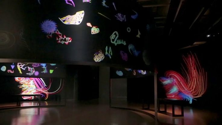 Universal Everything and You Drawing in Motion 21 September 2013 - 7 February 2014 Media Space at the Science Museum, London A large audio-visual artwork created…