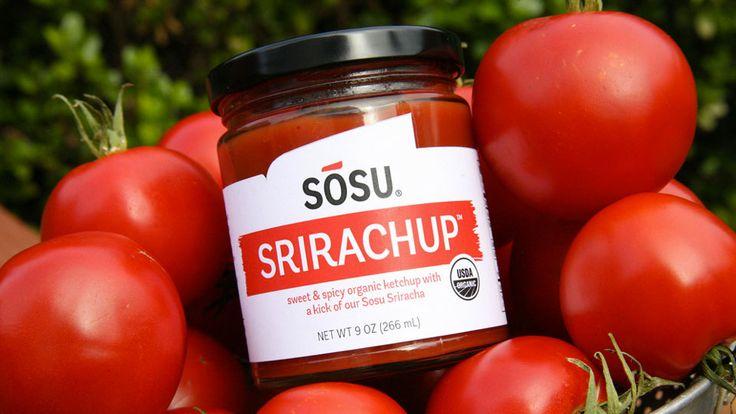 Srirachup - Sriracha Ketchup | DudeIWantThat.com