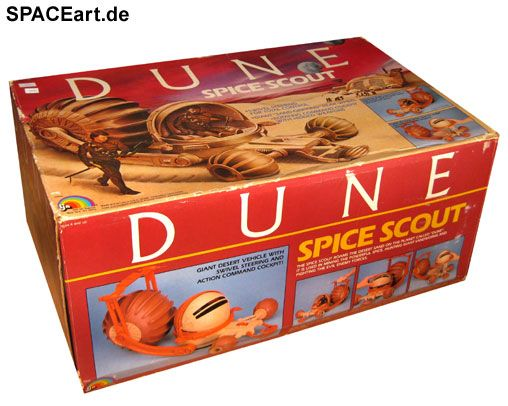 Dune - der Wüstenplanet: Spice Scout, Fertig-Modell ... http://spaceart.de/produkte/dwp005.php