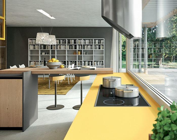 kcheneinrichtung moderne kchen kchengestaltung ideen - Designer Kchen Deko