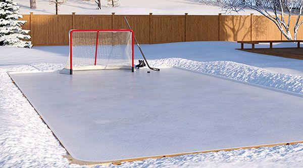 How To Make A Backyard Ice Rink | JanielinSmith | Backyard ...