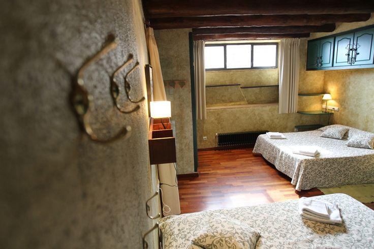 Vista de una de nuestras bonitas habitaciones