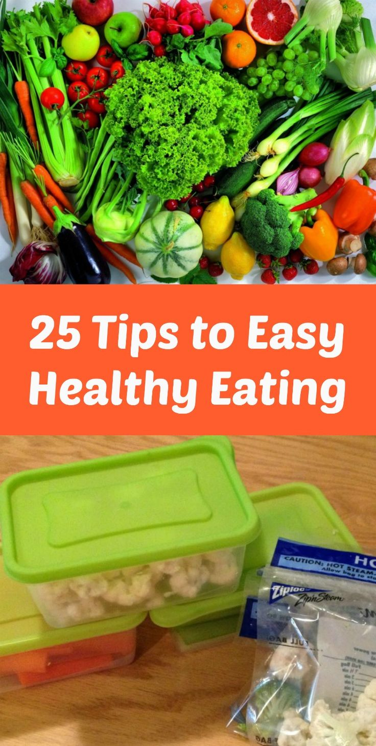 25 Tips to Easy Healthy Eating #ad