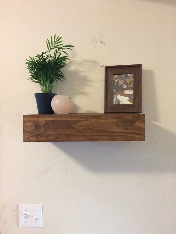 Rustic Wood Floating Shelf Wooden Floating Shelves Wall Decor Chunky Wood Shelf Rustic Wood Floating Shelves Wooden Floating Shelves Wood Floating Shelves