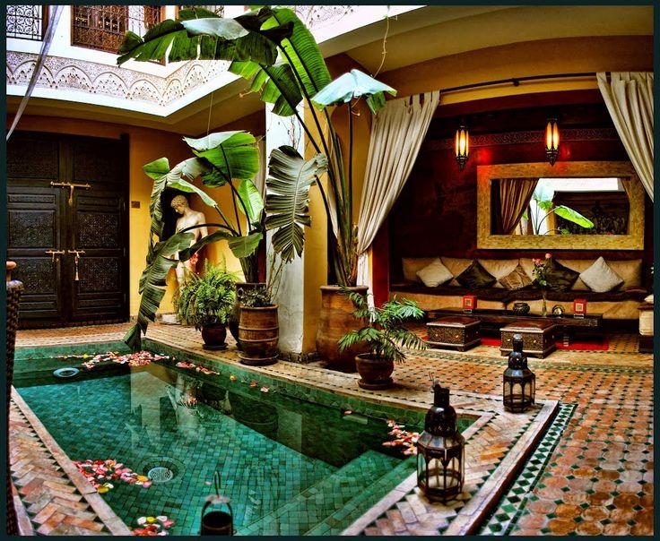 Riad Aguaviva, Morocco
