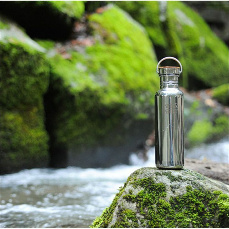 Klean Kanteen Reflect Waterfles rvs 500 ml Mirrored finish