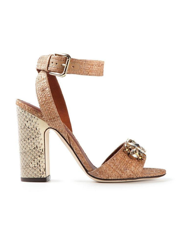 Dolce & Gabbana - gem embellished sandal 5