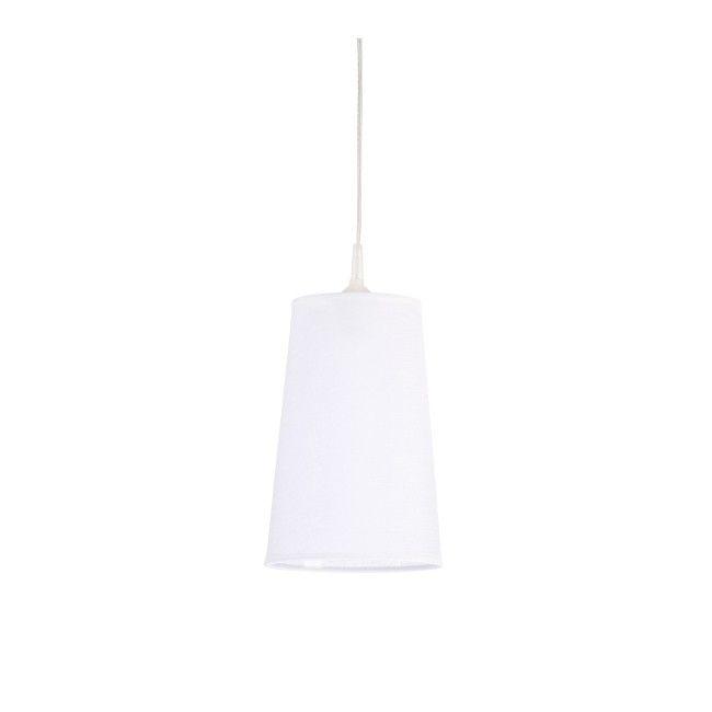 Lampa wisząca Colours Soul 1 x 40 W E27 biała