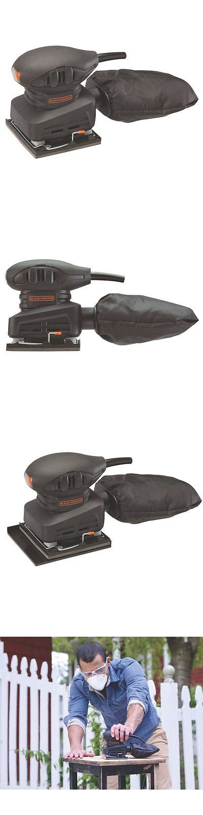 Finishing and Detail Sanders 43594: Black Decker Electric Hand Grip Lightweight 1 4 Sheet Sander Power Tool New -> BUY IT NOW ONLY: $42.9 on eBay!