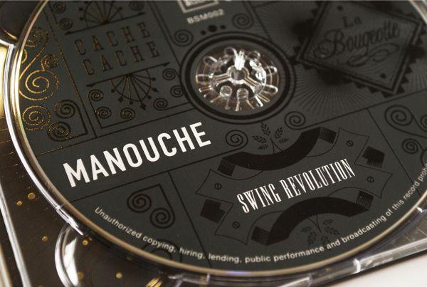 Manouche CD - Swing Revolution by Bia van Deventer, via Behance