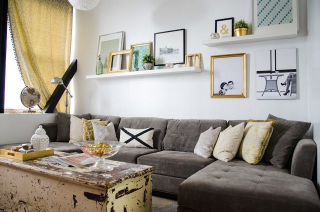 dyi wal art above couch - Google Search