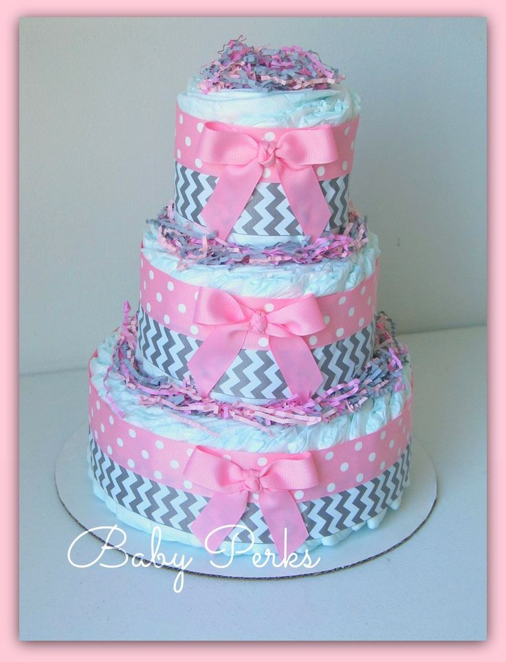 Baby shower for Baby diaper cake decoration