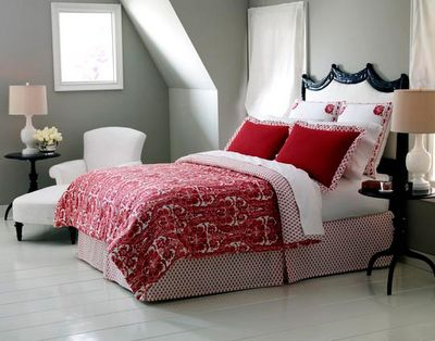 Bedrooms With Grey And Red Under A Paper Moon What S Black White