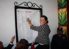 Anna María Chimal Velasco realizó la promulgación del Bando Municipal 2017