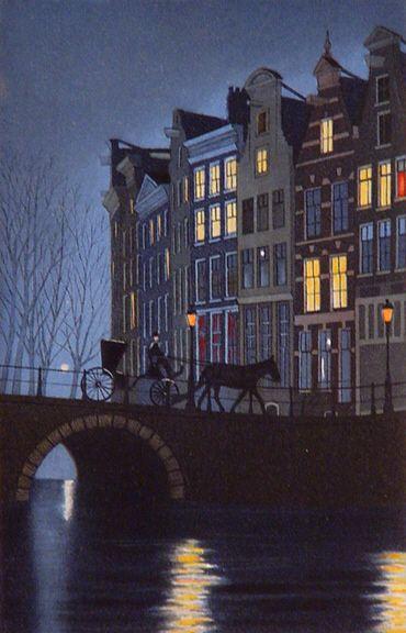 """""""Sur le pont"""" by Lynn Shaler"""