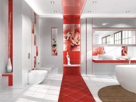 Дизайн интерьера помещений.  Освещение в ванной комнате (статья N1)