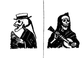 141 best images about jose guadalupe posada on pinterest for Teschi da disegnare