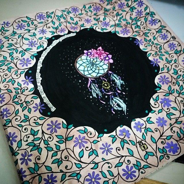 Partilhado Com Instagrab Adult ColoringColoring BooksColouringJohanna Basford Secret GardenGarden