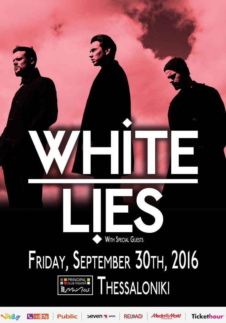 White Lies live in Thessaloniki (Postponed) (2016)