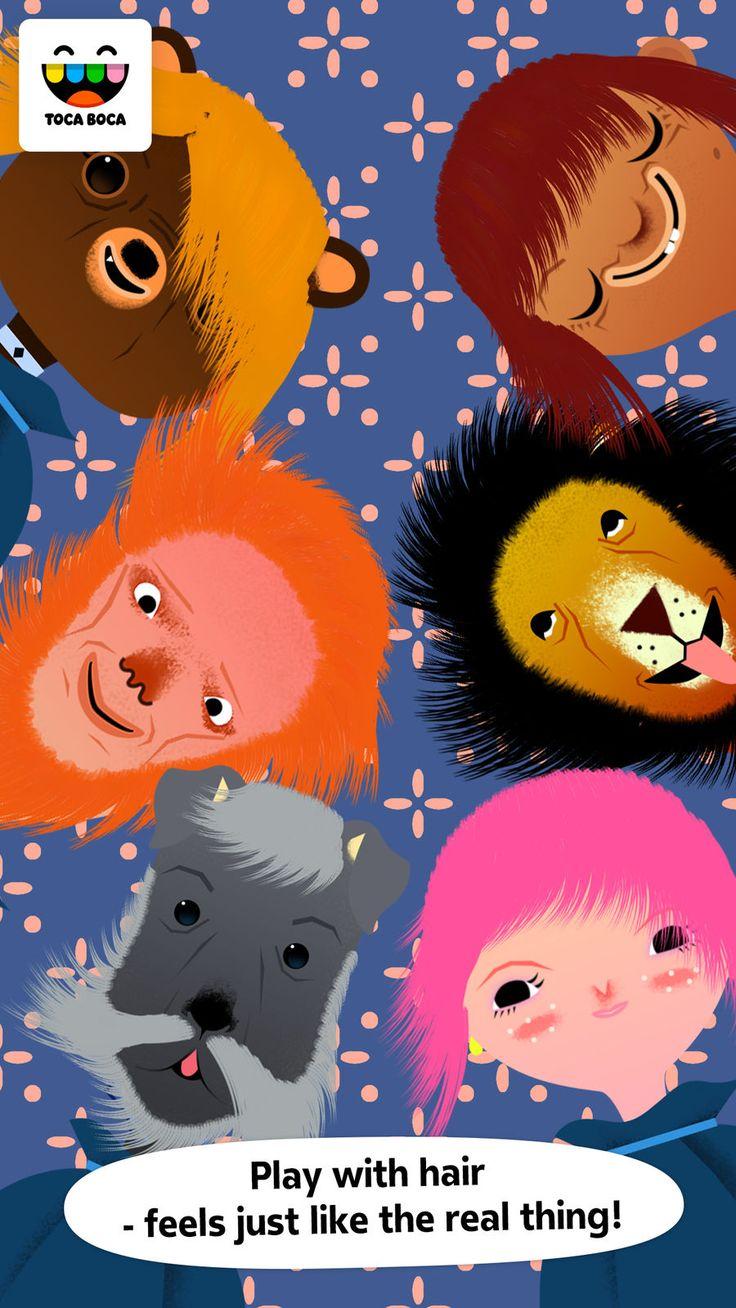 Toca Hair Salon EntertainmentEducationappsios Autism