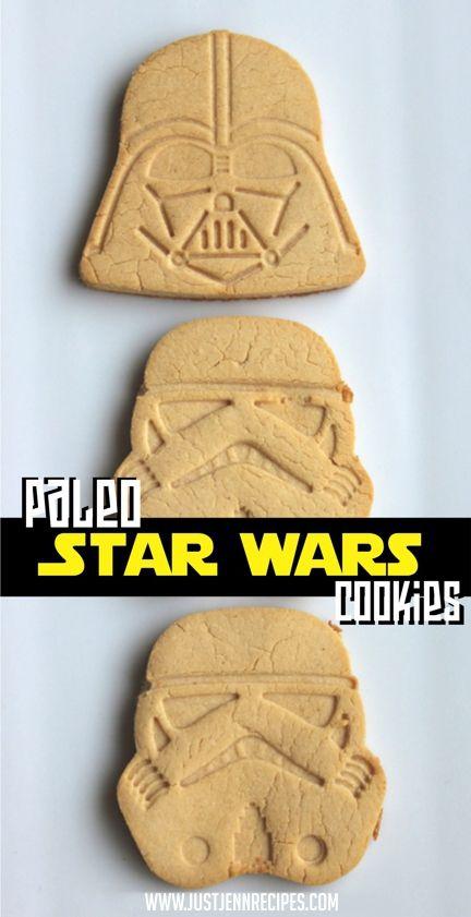 Guerra nas Estrelas cookies Paleo