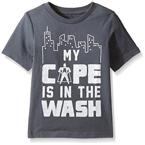 Baby Boy Clothes The Children's Place Baby Toddler Boys' Graphic T-Shirt, Graystone, 3T