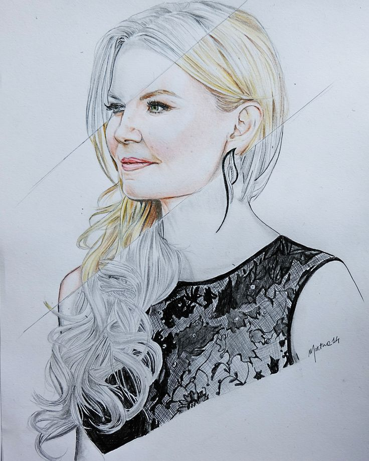 Awesome drawing of @jenmorrisonlive sent in by @M_LadySwan.