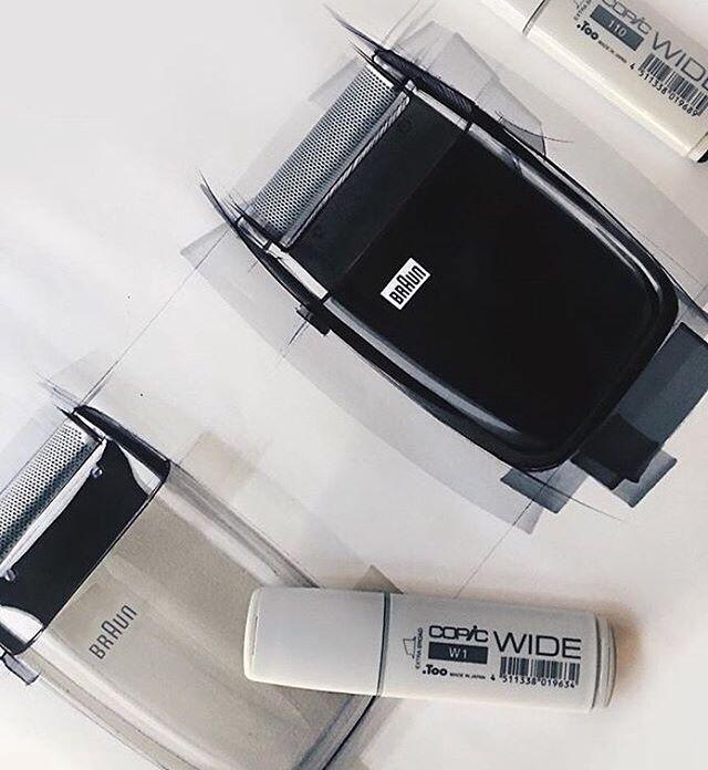 WEBSTA @ letsdesigndaily - (Part2)The Braun SM31 Sixtant sketch by Begüm Tomruk @begumtomruk Get inspired! #designinspiration #create #braun #shaver #classicdesign #dieterrams #productdesign #industrialdesign #product #sketching #sketches #blackandwhite #idsketch #designsketch #design #copic #copicmarkers #designer #designstudent #designlovers #designdaily #letsdesigndaily @letsdesigndaily