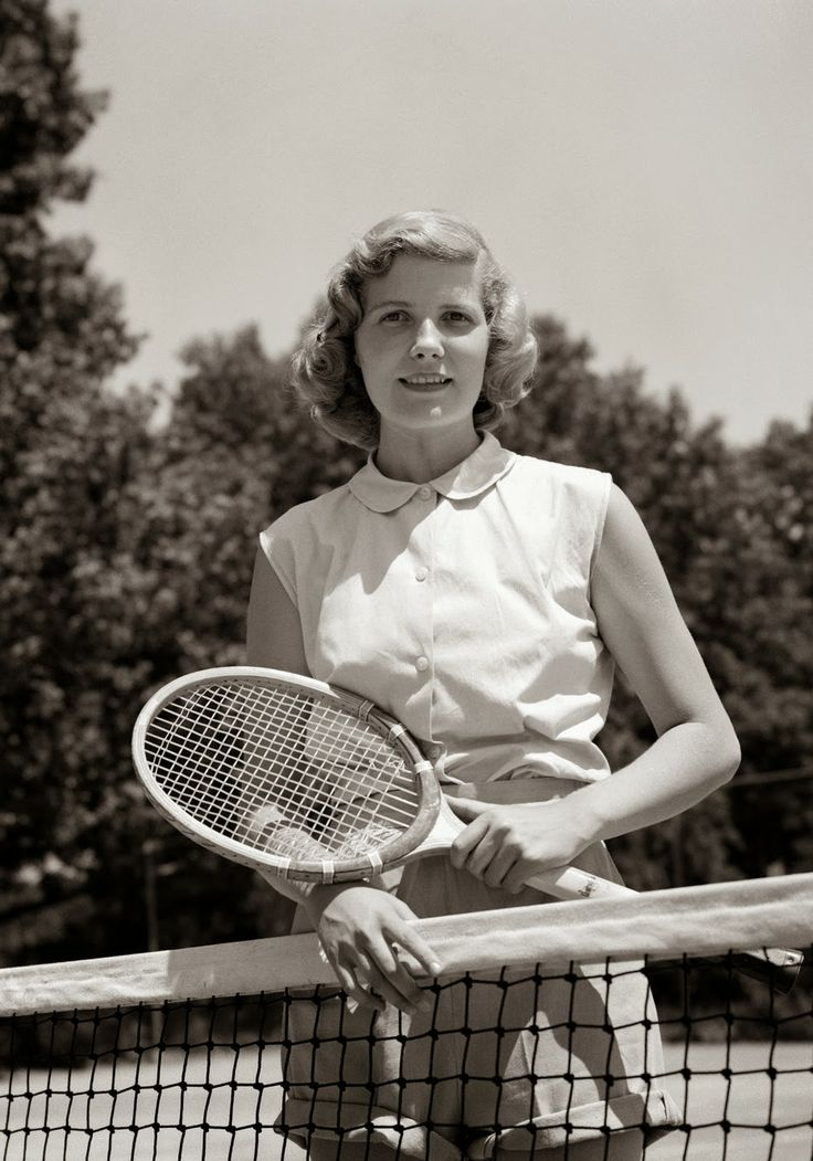 92 besten Vintage Tennis Bilder auf Pinterest