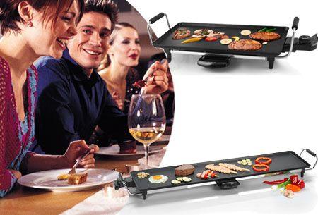 Telefunken grillplaat   Voor extra gezelligheid aan tafel - perfect voor de feestdagen