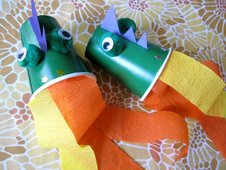 dragon storytime books + craft